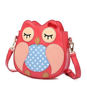 2015韩版时尚潮流斜跨女包可爱猫头鹰单肩包