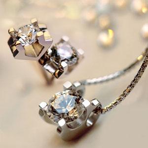 锆石s925银项链女