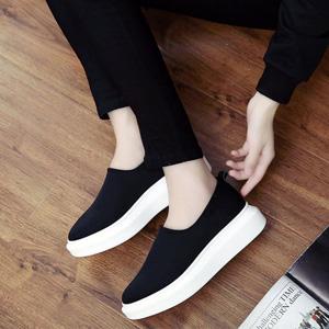 韩版百搭乐福鞋
