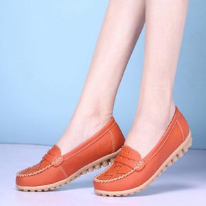 平底妈妈鞋豆豆鞋