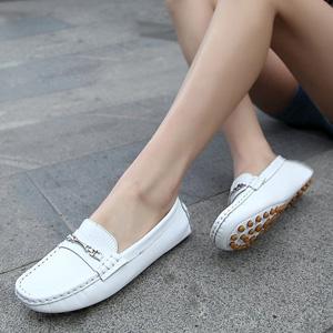 韩版女豆豆鞋