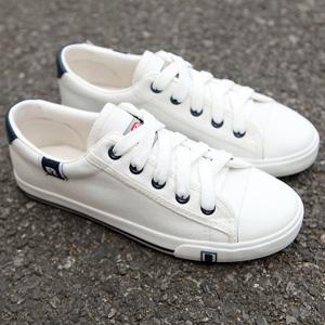 经典学生纯色小白鞋
