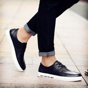 潮流板鞋透气乐福鞋
