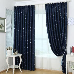 客厅阳台加厚遮光窗帘