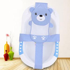 婴儿沐浴床宝宝浴网兜