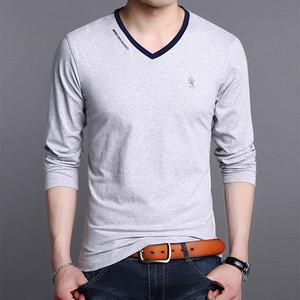 秋季青年男长袖t恤