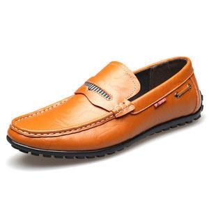 男日常休闲真皮软底鞋